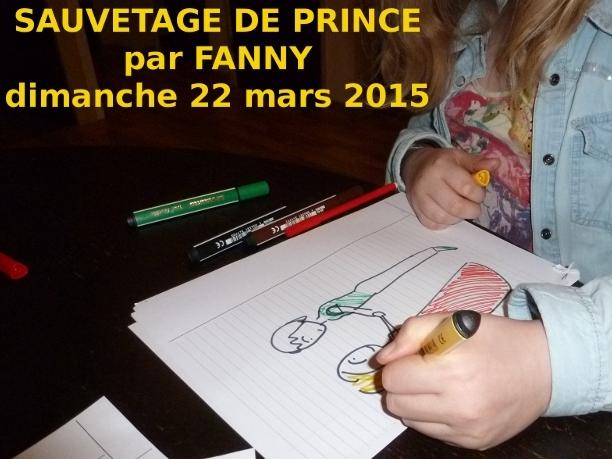 Sauvetage de prince par Fanny