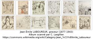 Gravures de Jean-Émile Laboureur