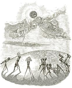 Éclipse... conjugale et observateurs, par Grandville (page 94)