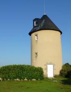 Le moulin de Chéméré, rue du Brigandin