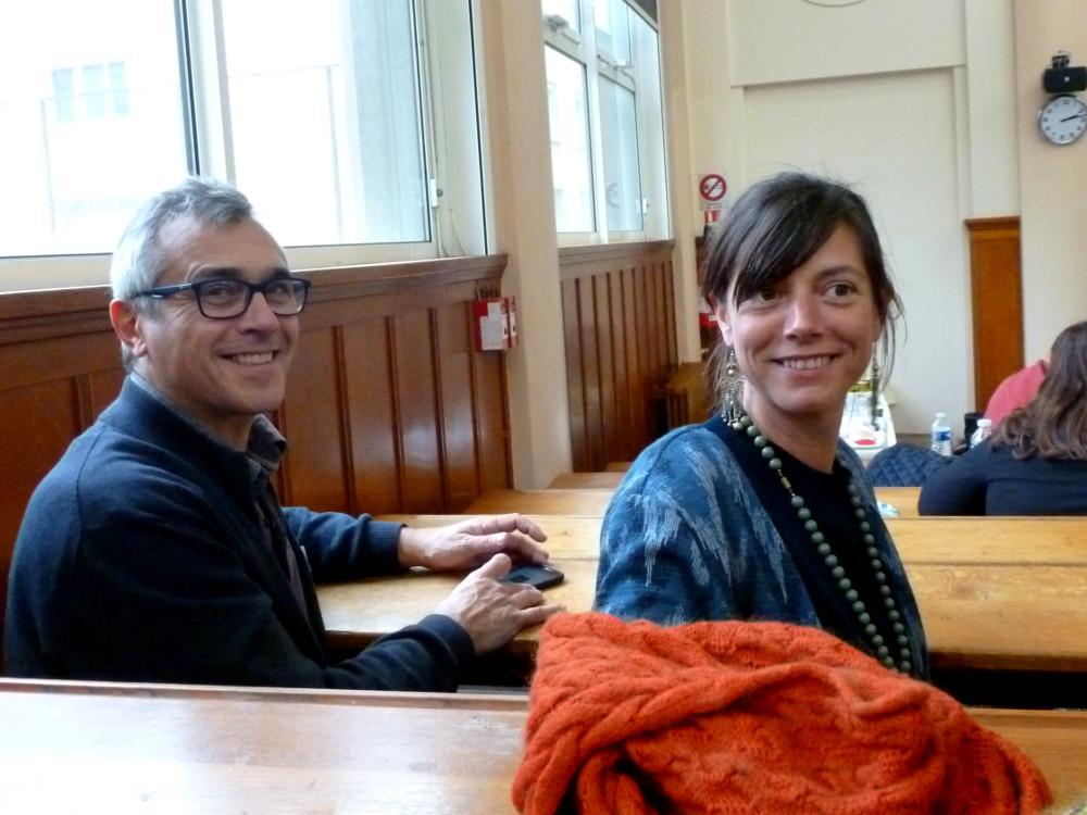 Céline et Philippe, ambassadeurs d'AbulÉdu, cliché Claire Claverie